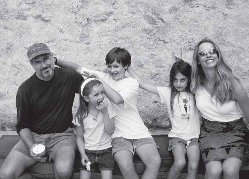 steve jobs and family