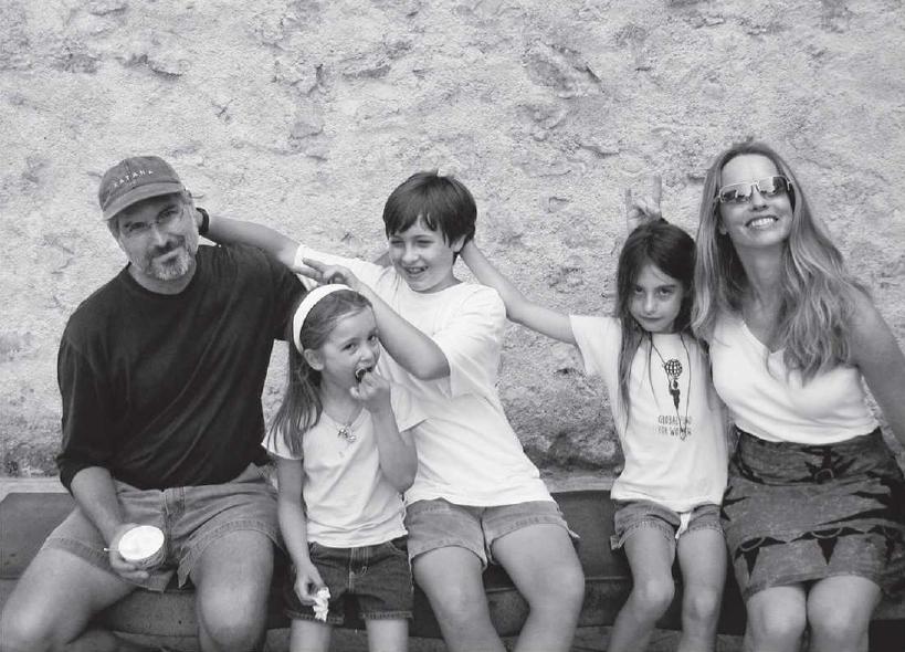 steve jobs and family