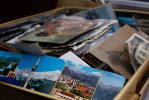 Aufräumen schafft Erleichterung: Erinnerungen