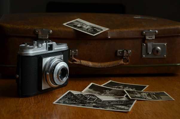 Erinnerungen - alte geliebte Dinge, wie Photos z.B.