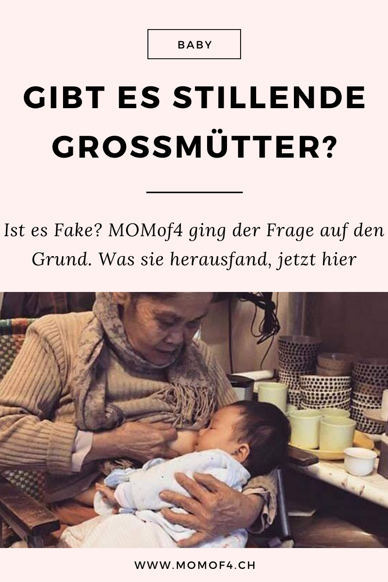 Pinterest - Stillende Grossmutter