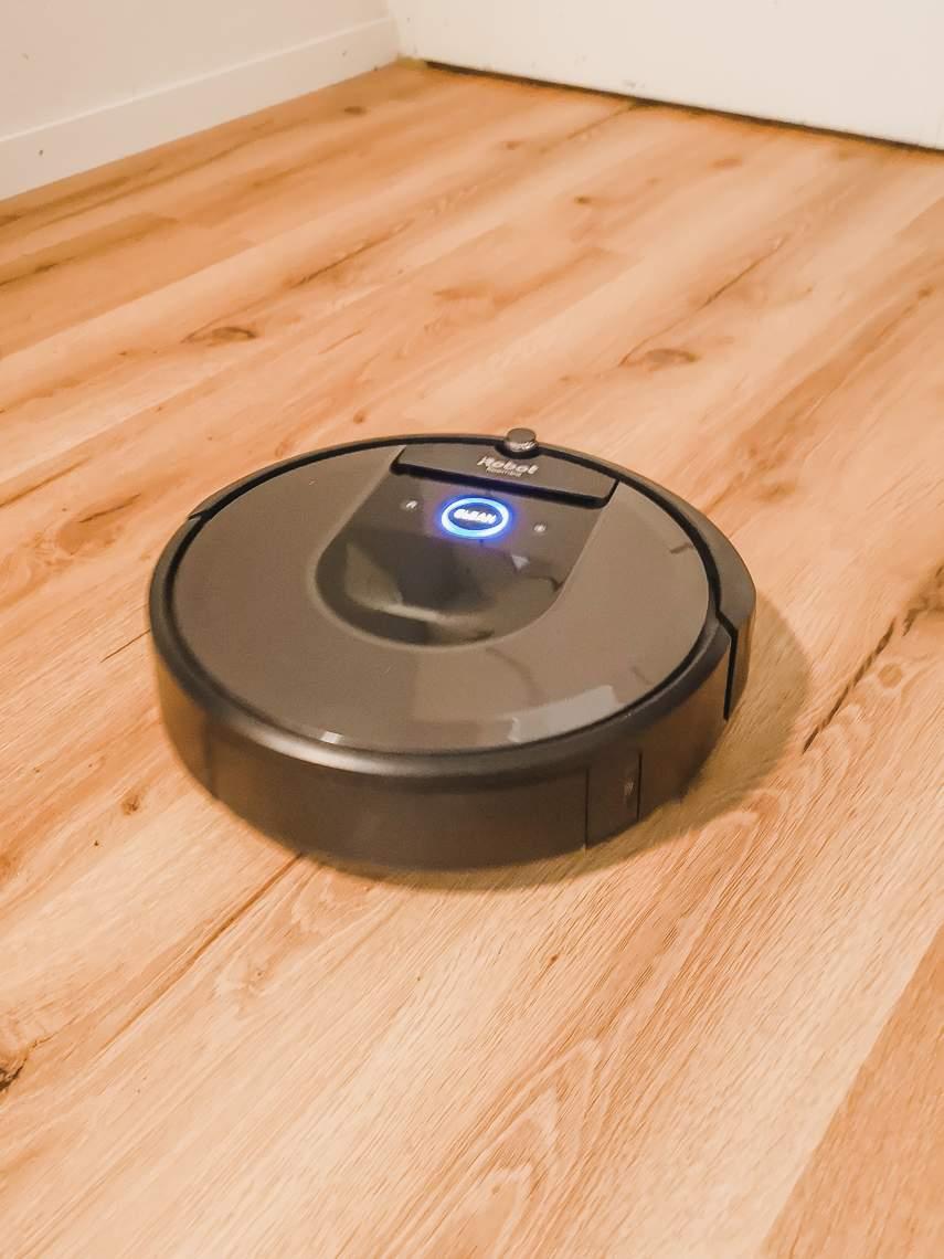 Roomba 976 in Fahrt