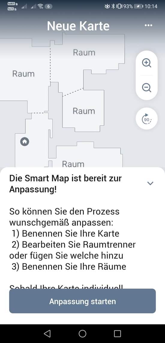 Smartmap wird angepasst