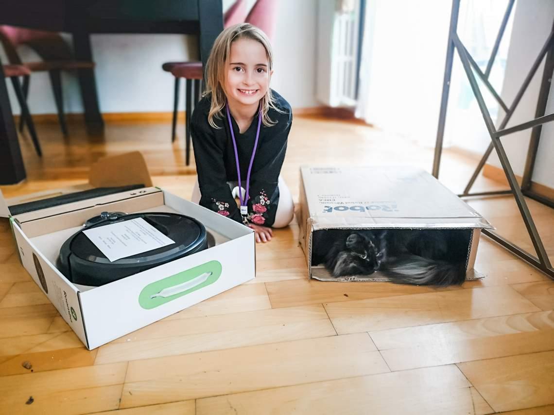 Unser neuer Haushaltshelfer der iRobot Roomba 976